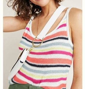 Cupcakes&cashmere anthro wharf stripped top